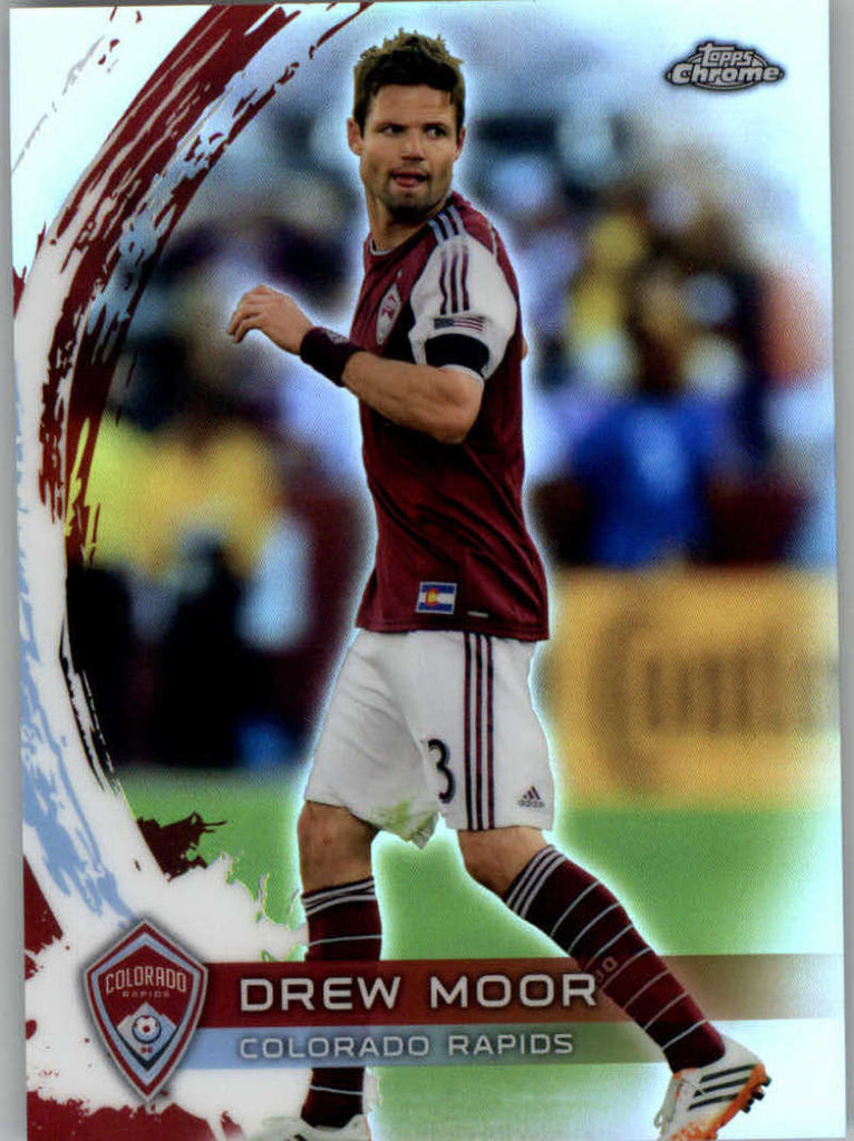 2014 Topps Chrome Refractor #23 Drew Moor NM-MT+ ck