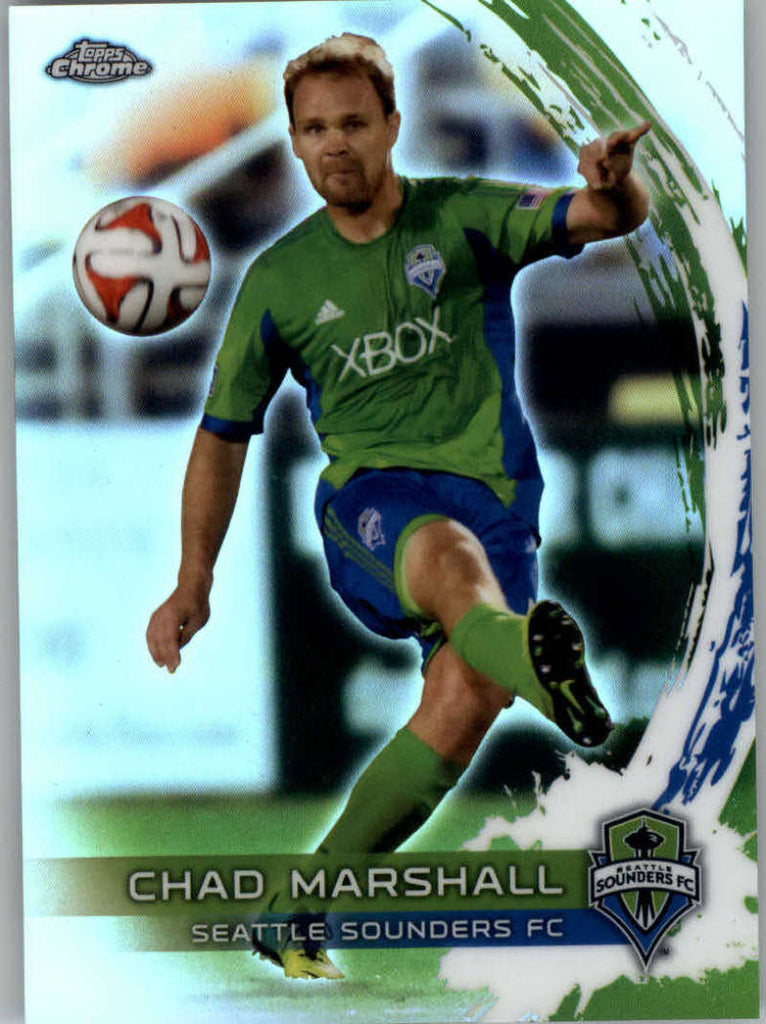 2014 Topps Chrome Refractor #26 Chad Marshall NM-MT+ ck