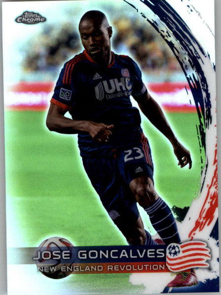 2014 Topps Chrome Refractor #28 Jose Goncalves NM-MT+ ck