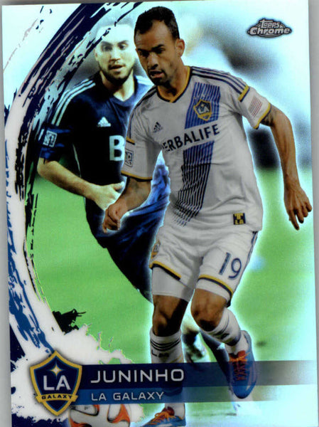 2014 Topps Chrome Refractor #37 Juninho NM-MT+ ck