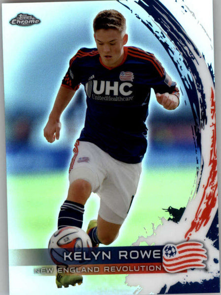 2014 Topps Chrome Refractor #38 Kelyn Rowe NM-MT+ ck