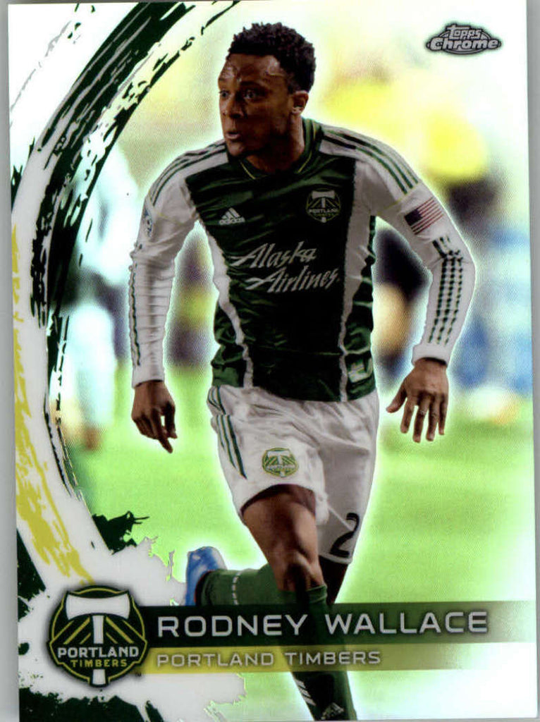 2014 Topps Chrome Refractor #42 Rodney Wallace NM-MT+ ck