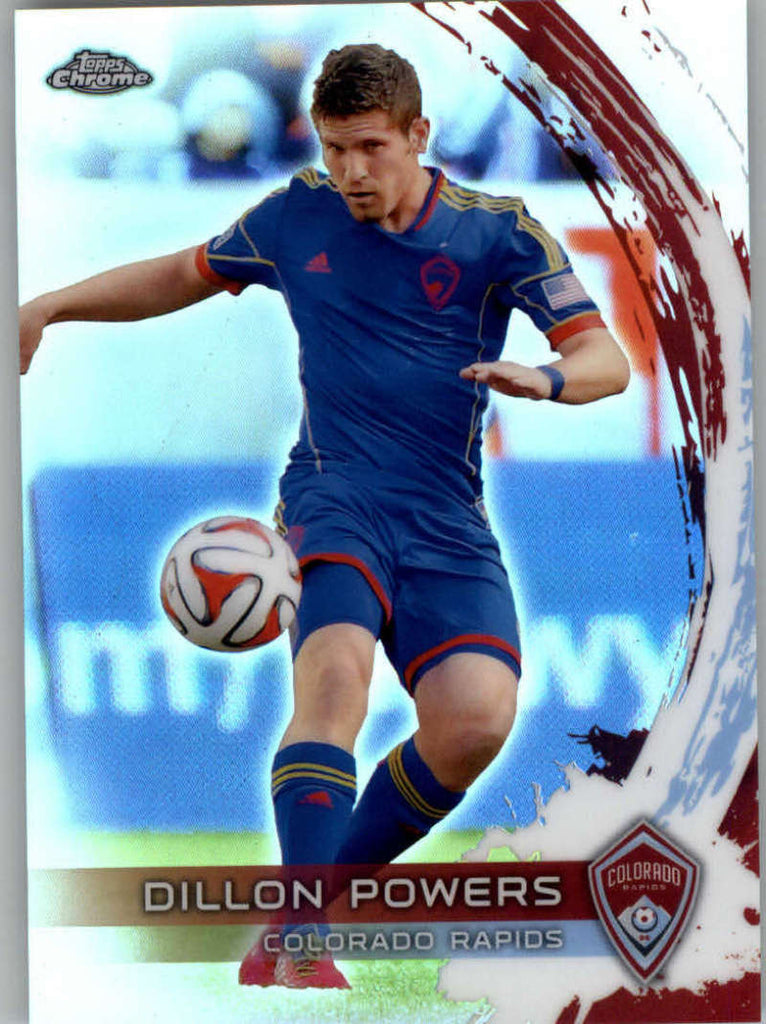 2014 Topps Chrome Refractor #47 Dillon Powers NM-MT+ ck