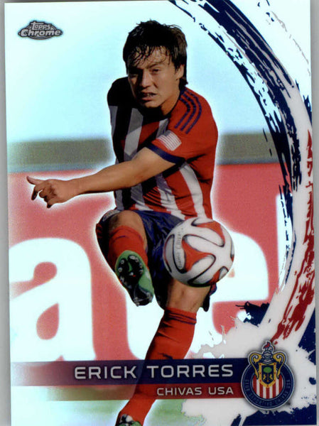 2014 Topps Chrome Refractor #52 Erick Torres NM-MT+ ck
