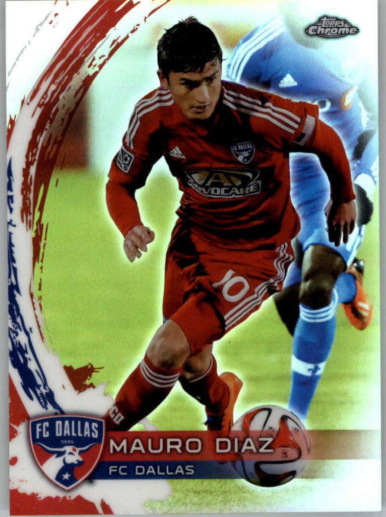 2014 Topps Chrome Refractor #65 Mauro Diaz NM-MT+ ck