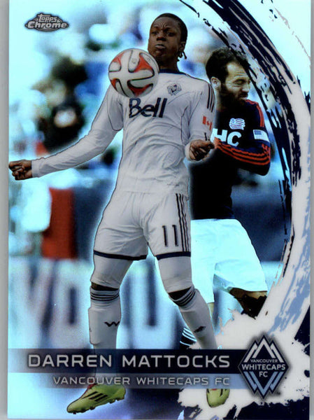2014 Topps Chrome Refractor #88 Darren Mattocks NM-MT+ ck