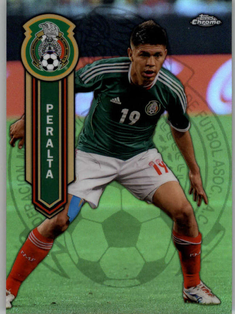 2014 Topps Chrome Mexican National Team Refractor #MEXN-OP Oribe Peralta NM-MT+ ck