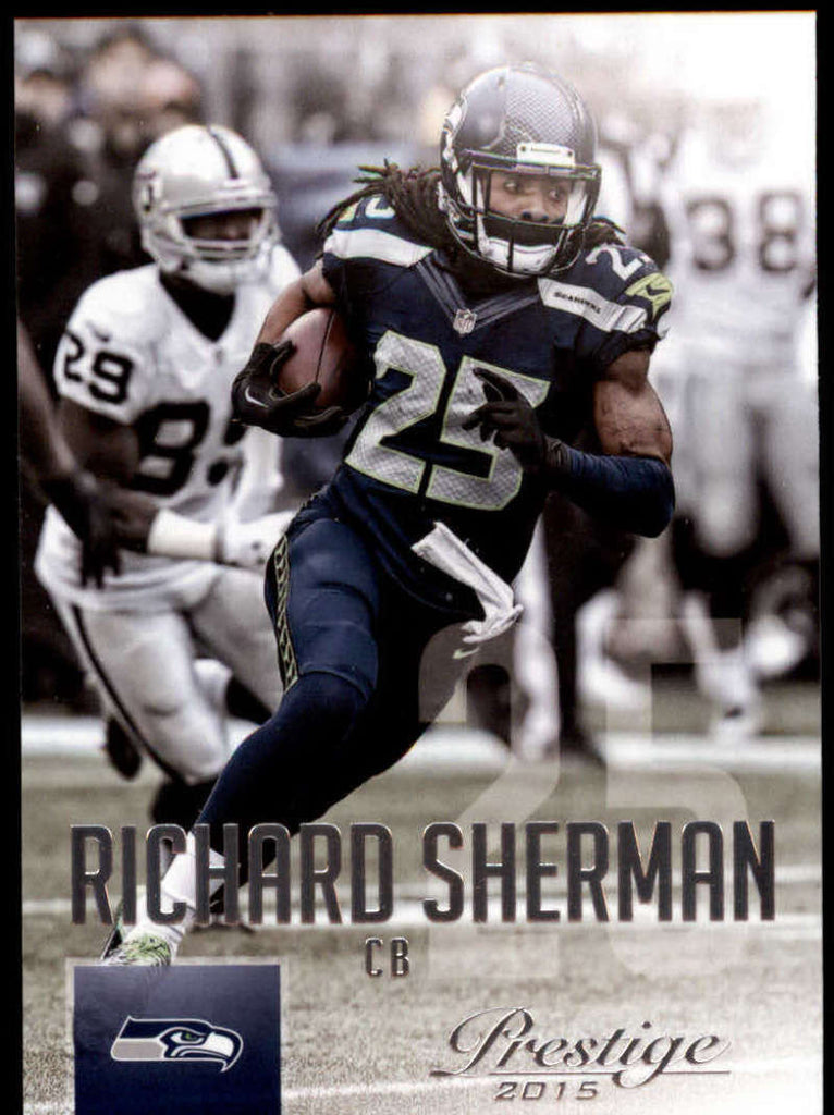 2015 Panini Prestige #12 Richard Sherman NM-MT+ cb