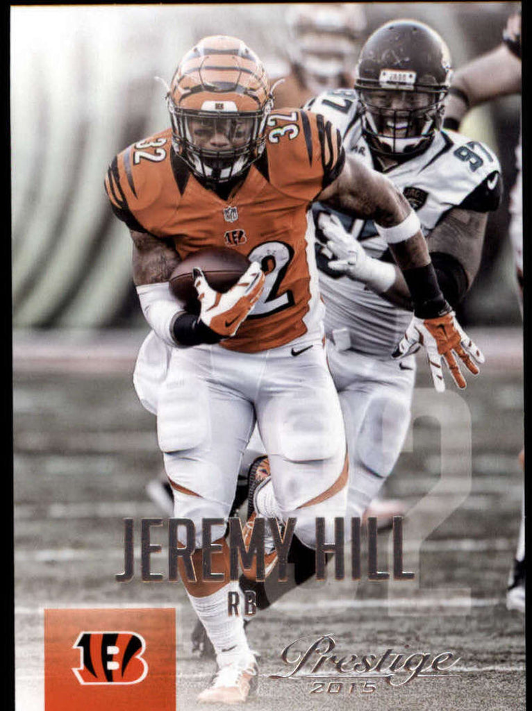 2015 Panini Prestige #67 Jeremy Hill NM-MT+ cb