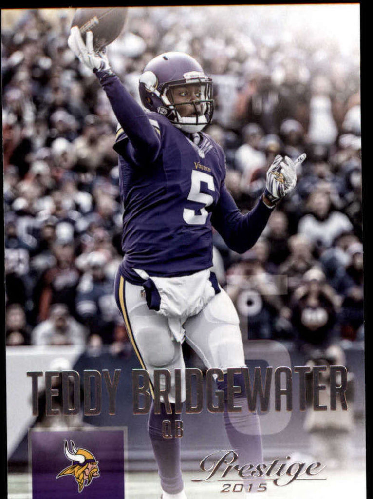2015 Panini Prestige #99 Teddy Bridgewater NM-MT+ cb