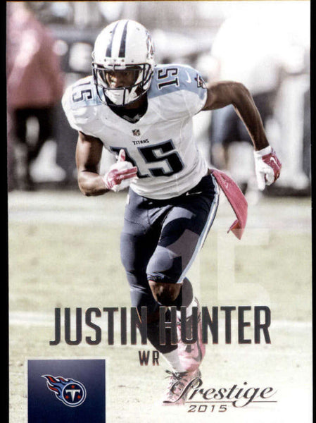 2015 Panini Prestige #124 Justin Hunter NM-MT+ cb
