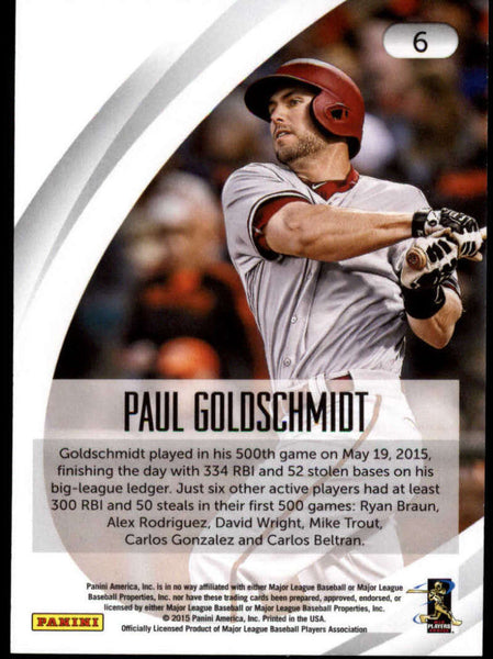 2015 Panini National Convention #6 Paul Goldschmidt NM-MT+ H4