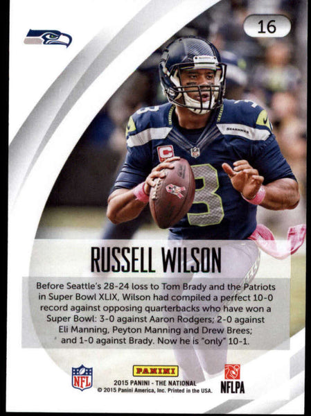 2015 Panini National Convention #16 Russell Wilson NM-MT+ H4