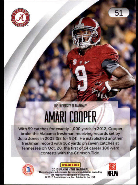 2015 Panini National Convention #51 Amari Cooper NM-MT+ H4