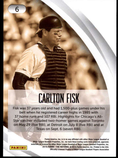 2015 Panini National Convention Chicago Legends #6 Carlton Fisk NM-MT+ H4