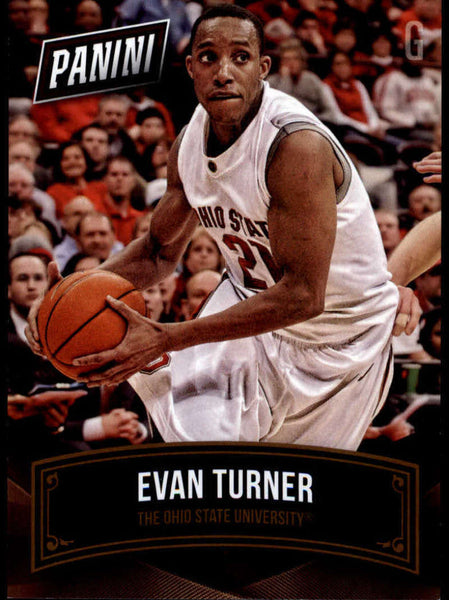 2015 Panini National Convention College Legends #15 Evan Turner NM-MT+ H4