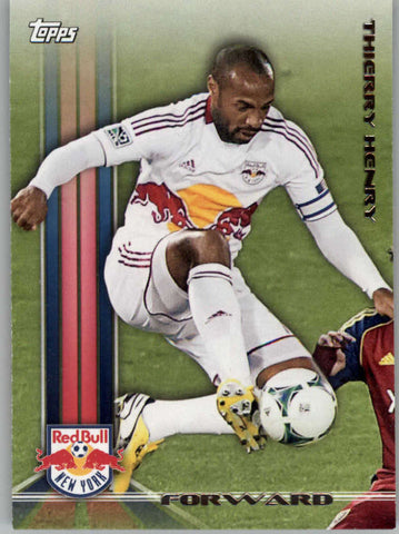 2013 Topps MLS #1 Thierry Henry NM-MT+ cd