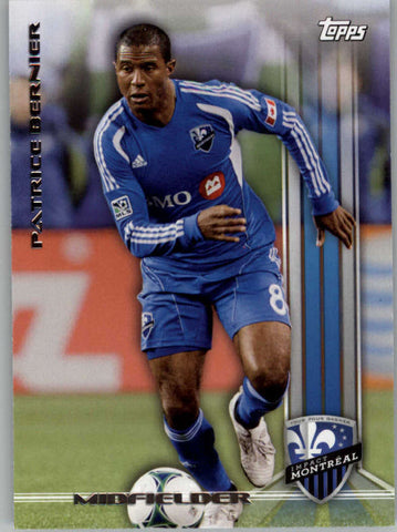 2013 Topps MLS #12 Patrice Bernier NM-MT+ cd