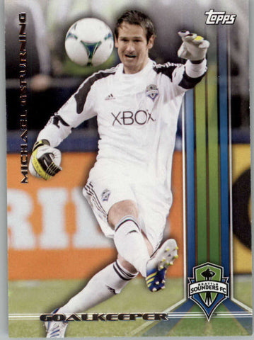 2013 Topps MLS #13 Michael Gspurning NM-MT+ cd