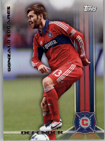 2013 Topps MLS #19 Gonzalo Segares NM-MT+ cd