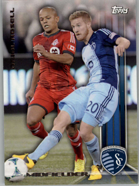 2013 Topps MLS #43 Oriol Rosell NM-MT+ cd