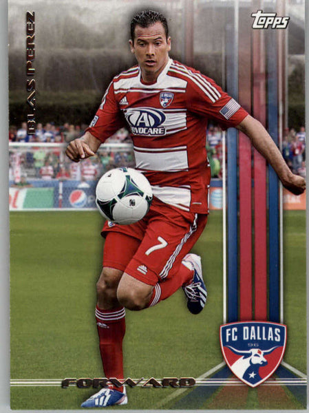 2013 Topps MLS #49 Blas Perez NM-MT+ cd