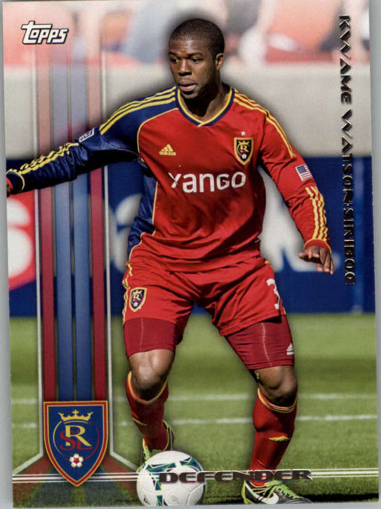 2013 Topps MLS #89 Kwame Watson-Siriboe NM-MT+ cd