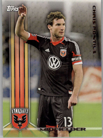 2013 Topps MLS #103 Chris Pontius NM-MT+ cd