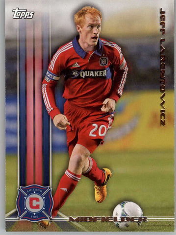 2013 Topps MLS #119 Jeff Larentowicz NM-MT+ cd