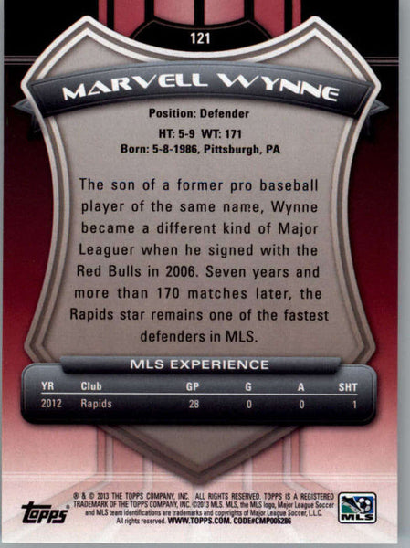 2013 Topps MLS #121 Marvell Wynne NM-MT+ cd