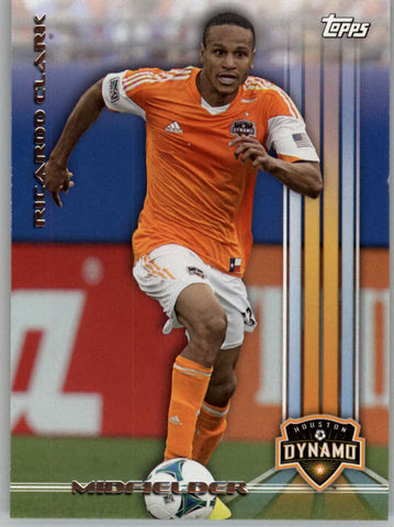 2013 Topps MLS #128 Ricardo Clark NM-MT+ cd