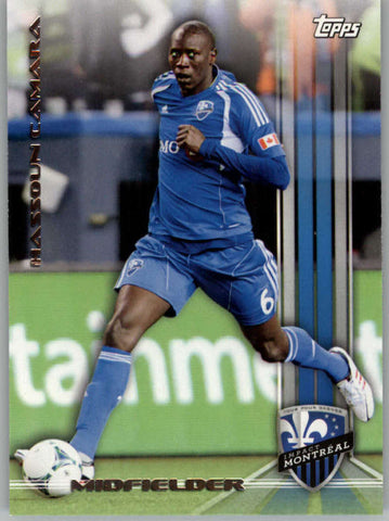 2013 Topps MLS #130 Hassoun Camara NM-MT+ cd