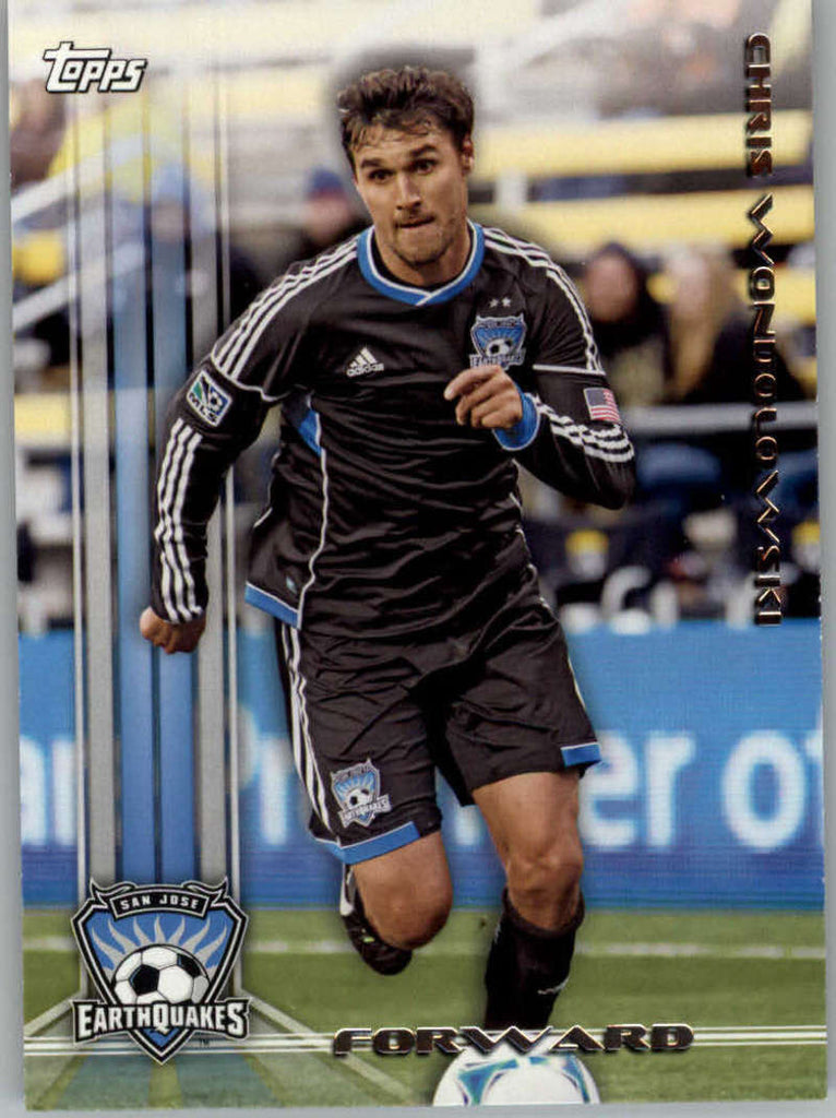 2013 Topps MLS #151 Chris Wondolowski NM-MT+ cd