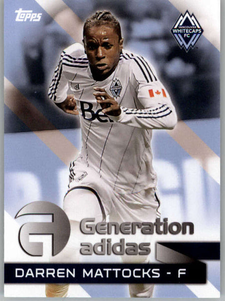 2014 Topps MLS Generation Addidas #GA-DM Darren Mattocks NM-MT+ cd