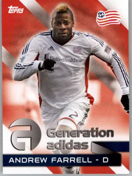 2014 Topps MLS Generation Addidas #GA-AF Andrew Farrell NM-MT+ cd