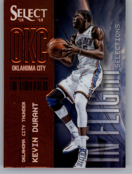 2012-13 Panini Select In-Flight Selections #20 Kevin Durant NM-MT+ a