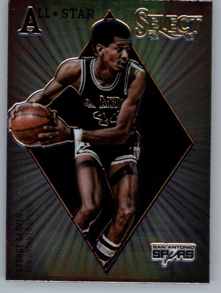 2012-13 Panini Select All-Star Selections #13 George Gervin NM-MT+ a