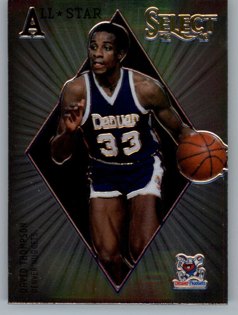 2012-13 Panini Select All-Star Selections #14 David Thompson NM-MT+ a