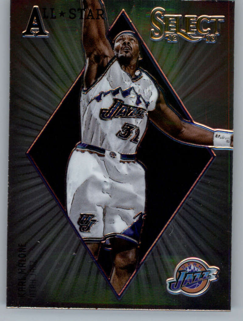 2012-13 Panini Select All-Star Selections #18 Karl Malone NM-MT+ a
