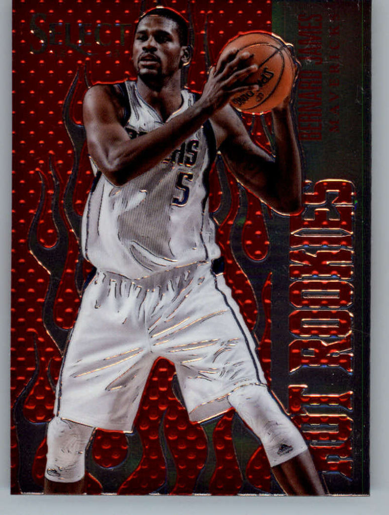 2012-13 Panini Select Hot Rookies #25 Bernard James NM-MT+ a RC Rookie