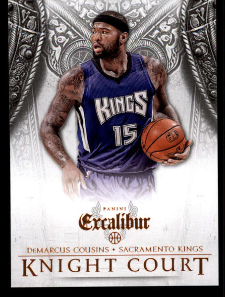 2014-15 Panini Excalibur Knight Court #21 DeMarcus Cousins NM-MT+ a