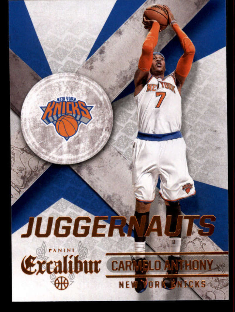 2014-15 Panini Excalibur Juggernauts #7 Carmelo Anthony NM-MT+ a