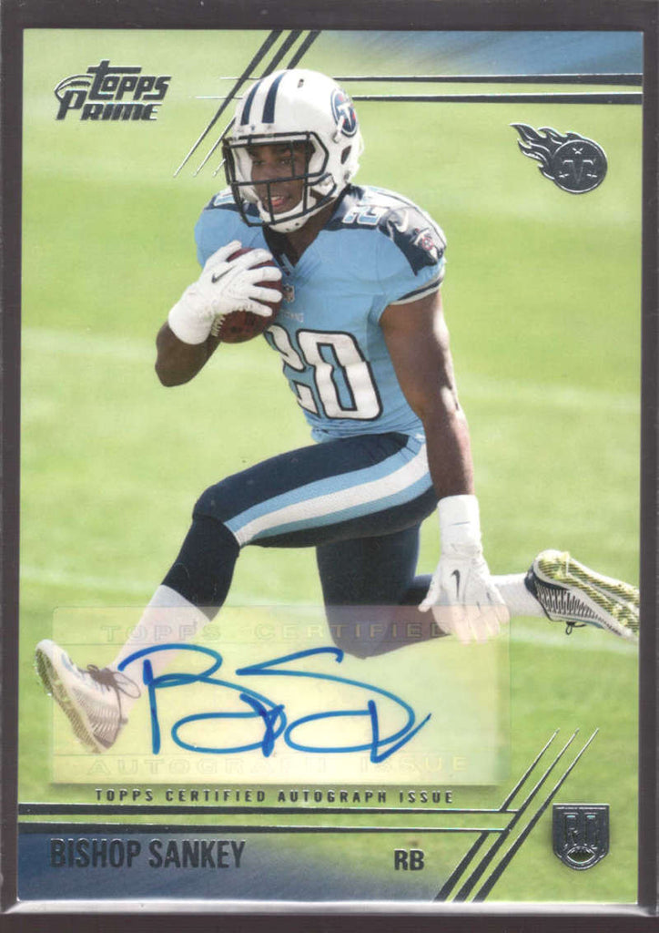 2014 Topps Prime Autographed Rookies #106 Bishop Sankey NM-MT+ G RC Rookie Auto