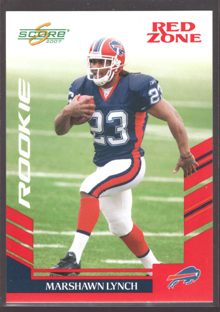 Marshawn Lynch 2007 Score Red Zone Rookie RC /120 SP 381 NM-MT+ Buffalo Bills h8