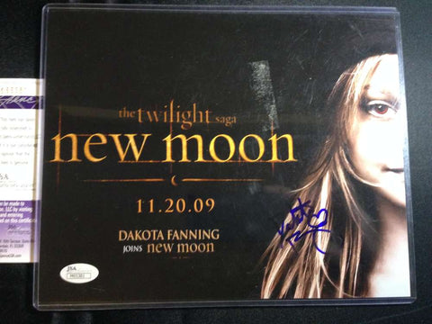 Dakota Fanning Twilight Signed 8x10 Photo JSA Certified Autograph Jane Authentic Signature Auto