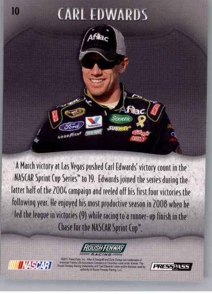 2011 Press Pass Showcase #10 Carl Edwards NM-MT+ ch