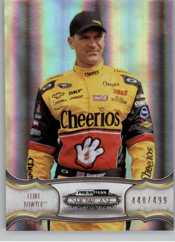 2011 Press Pass Showcase #12 Clint Bowyer NM-MT+ ch