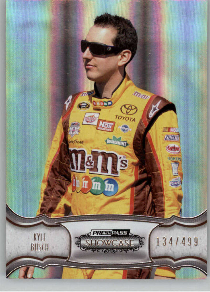 2011 Press Pass Showcase #13 Kyle Busch NM-MT+ ch