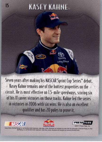 2011 Press Pass Showcase #15 Kasey Kahne NM-MT+ ch