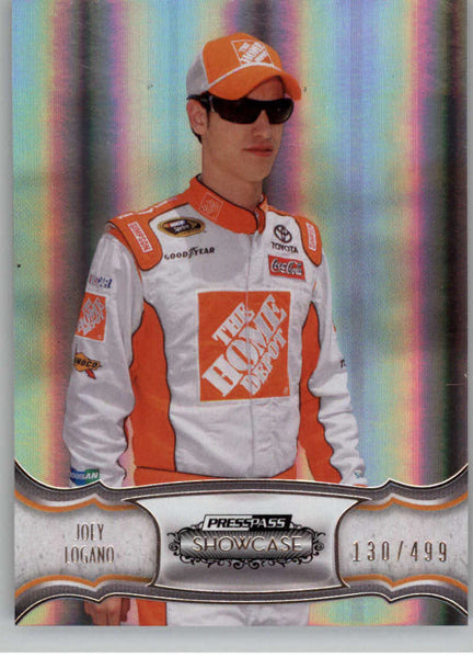 2011 Press Pass Showcase #20 Joey Logano NM-MT+ ch